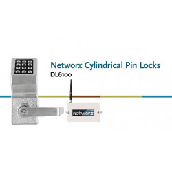 Alarm Lock DL6100 Networx Cylindrical Pin Lock