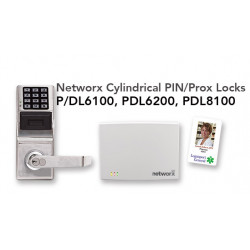 Alarm Lock PDL6100 Networx Cylindrical Pin/Prox Lock