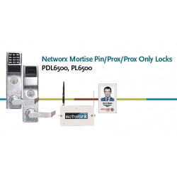 Alarm Lock PL6500 Networx Mortise Pin/Prox/Prox Only Lock