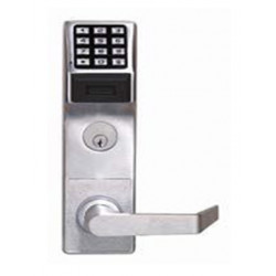 Alarm Lock PDL8600 Networx Electronic iCLASS Prox Mortise Lock w/REX & DPS