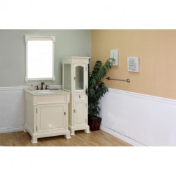 """Bellaterra 205030 30 In Single Sink Vanity-Wood- 30x22.5x35.5"""""""