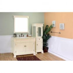 """Bellaterra 205042 42 In Single Sink Vanity-Wood- 42x22.5x35.5"""""""