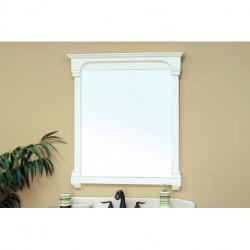 "Bellaterra 205050 42 In Solid Wood Frame Mirror -42x2.4x41.5"""