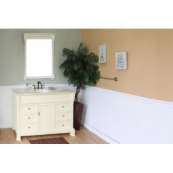 """Bellaterra 205050 50 In Single Sink Vanity-Wood- 50x22.5x35.5"""""""