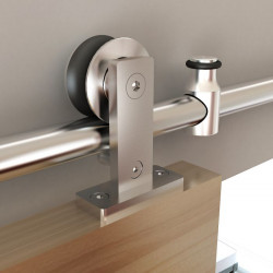 Custom Service Hardware NT.1400 Stainless Steel 6.6 ft Door Hardware Kit For Wood Door