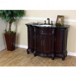 """Bellaterra 600161 48 In Single Sink Vanity-Wood - 48x22x36"""""""