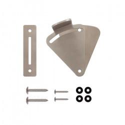 Custom Service Hardware NT.1479.01.SS Sliding Door Latch & Strike Plate Stainless Steel