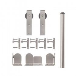 Custom Service Hardware QG.1300.HK.02-NR Hook Hardware Short Bracket Kit Satin Nickel