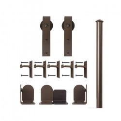 Custom Service Hardware QG.1300.HK.07-NR Hook Hardware Short Bracket Kit Oil Rubbed Bronze