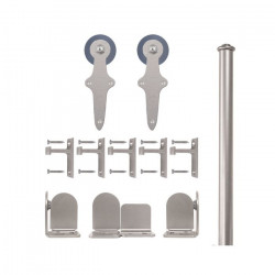 Custom Service Hardware QG.1310.WR.02-NR Wright Hardware Short Bracket Kit Satin Nickel