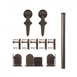 Custom Service Hardware QG.1310.WR.07-NR Wright Short Bracket Kit Oil Rubbed Bronze