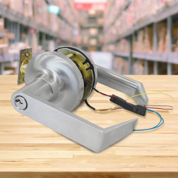 FHI 1000-CLARE Electrified Cylindrical Lockset,12-24 volts AC/DC , Storeroom Function
