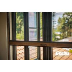 Genius INC3 Incognito3 Retractable Window Screens (for Wood Windows)