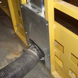 Sawtrax IDPL Frame Dust Collection