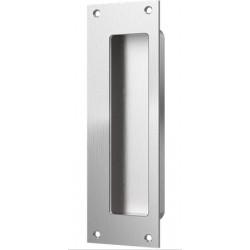 """Accurate Lock & Hardware FE7001 7"""" Rectangular Flush Pull/Exposed Fastener, Exposed Screw"""