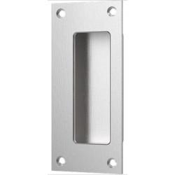"""Accurate Lock & Hardware FE5001 5"""" Rectangular Flush Pull/Exposed Fastener, Exposed Screw"""