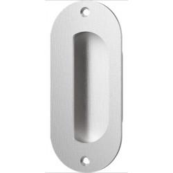 """Accurate Lock & Hardware FE5002 5"""" Obround Flush Pull/Exposed Fastener, Exposed Screw"""