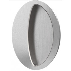 """Accurate Lock & Hardware FC3005 3"""" Oval Flush Pull/Concealed Fastener, Concea"""