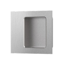 "Accurate Lock & Hardware FC2143 2-1/4"" Square Flush Pull/Concealed Fa"