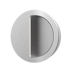 """Accurate Lock & Hardware FC2144 2-1/4"""" Round Flush Pull/Con"""
