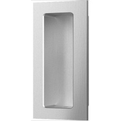 "Accurate Lock & Hardware FC3127 3-1/2"" Rectangular Flush Pull/Concealed Fastener, Concealed Screw"