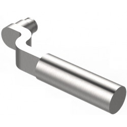 Accurate Lock & Hardware 17L Lever