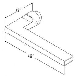 Accurate Lock & Hardware 19L Lever