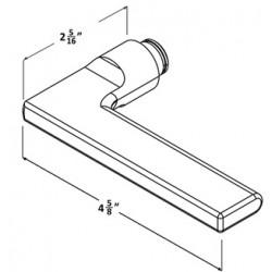 Accurate Lock & Hardware 21L Lever