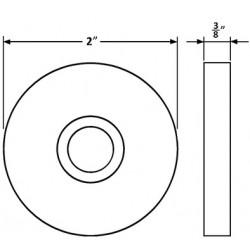 Accurate Lock & Hardware 1R Rose