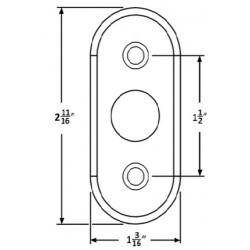 Accurate Lock & Hardware 2R Rose