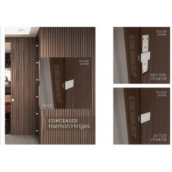 """Accurate Lock & Hardware CHARMON 214 Concealed Harmon Hinge, 2-1/4"""" Door Thickness"""