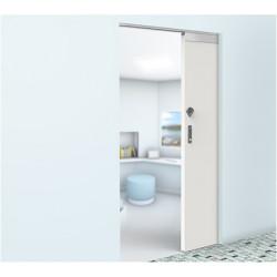 """Accurate Lock & Hardware LR-SDS Ligature Resistant Sliding Door System, Door Thickness - 1-3/4"""", Door Width - 44"""""""