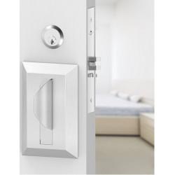 "Accurate Lock & Hardware LRSPPMS Ligature Resistant Safety Push Pull Mortise Set, Backset - 2-3/4"", Door"