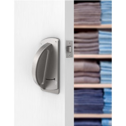 """Accurate Lock & Hardware CH-TUB Crescent Tubular Passage Set, Backset - 2-3/4"""", Door Thickness - 1-3/4"""""""