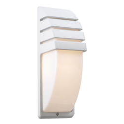 PLC Lighting 1832WH113 PLC 1 Light Outdoor Fixture Synchro Collection