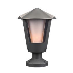 PLC Lighting 1888BZ118GU24 PLC 1 Light Outdoor Fixture Silva Collection