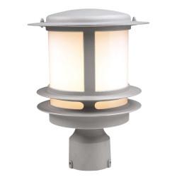 PLC Lighting 1896SL113GU24 PLC 1 Light Outdoor Post Light Tusk Collection