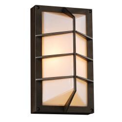 PLC Lighting 2400BZ113 PLC 1 Light Outdoor Fixture Expo Collection