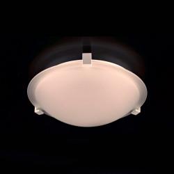 PLC Lighting 3453WH126GU24 PLC 2 Light Ceiling Light Nuova Collection