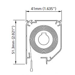 Genius 41mm Cassette for Incognito2® Windows - Brown Stone