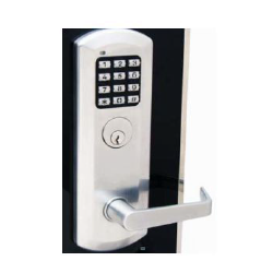 TownSteel XDK-5000 E-ALL Keypad Exit Device Trim