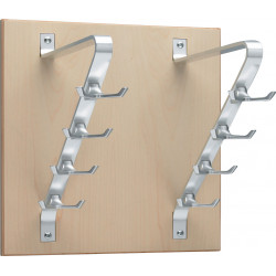 Peter Pepper 2196 Artform Double Panel with 8 Double Hooks