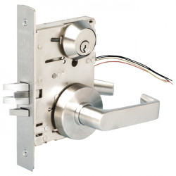 TownSteel MSS Mortise Lock with Electrified Mortise - Sectional