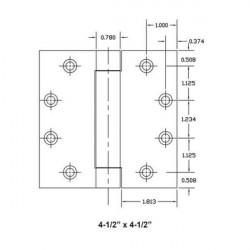 TownSteel THSP179 Standard Weight Spring - 4.5 X 4.5