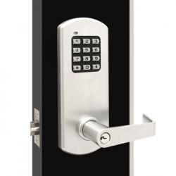 TownSteel XCE 2000 Cylindrical Grade 1 Electronic Lockset with Keypad