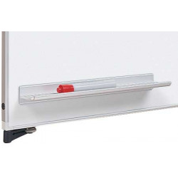 "Peter Pepper 5789 12""w Magnetic Pen Rail With Markers And Eraser"