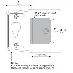Cavity Sliders CL400 Right Angle Bracket