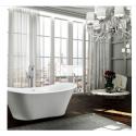 Bellaterra BA6518 Ancona 71 inch Freestanding Bathtub in Glossy White
