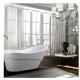 Bellaterra BA6523 Bari 67 inch Freestanding Bathtub in Glossy White