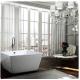 Bellaterra BA6806 Bologna 47 inch Freestanding Bathtub in Glossy White